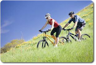 Synchrony ChiroCare Biking Couple